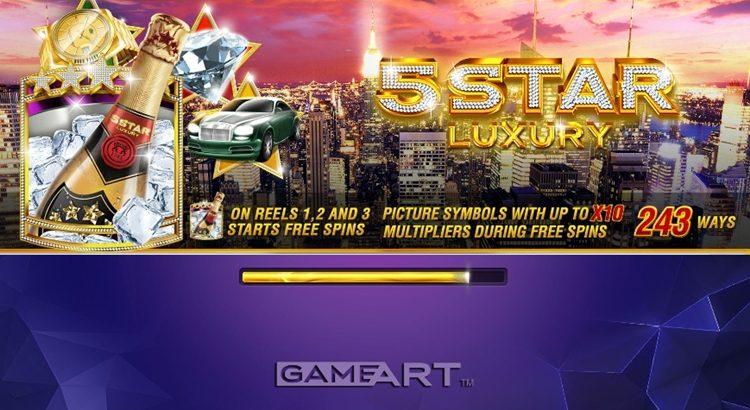Игровой автомат 5 Star Luxury