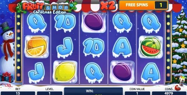 Игровой автомат Fruit Shop Christmas Edition