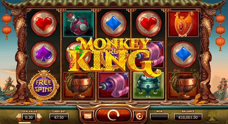Игровой автомат Monkey King