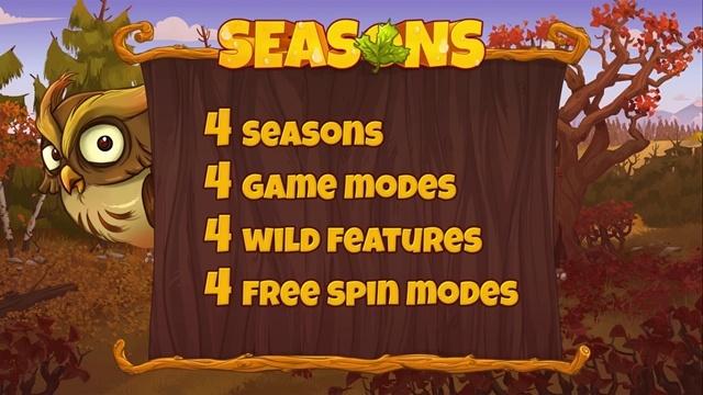 Игровой автомат Seasons