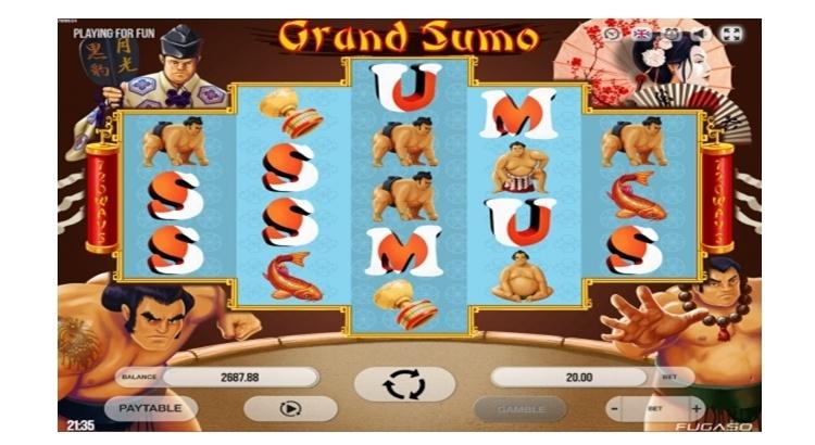 Игровой автомат Grand Sumo