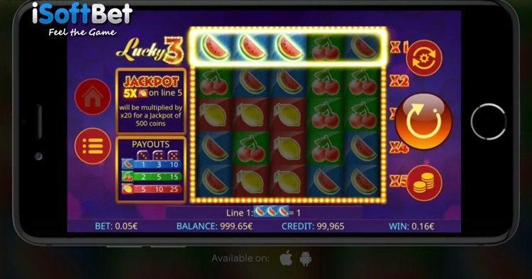 Игровой автомат Lucky 3