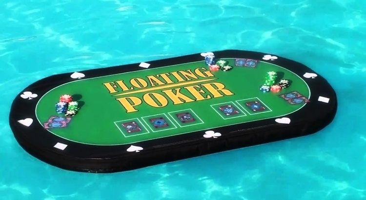 Плавающий стол для покера