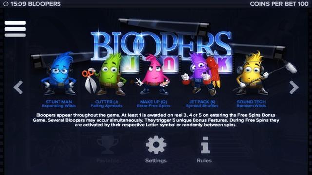 Игровой автомат Bloopers