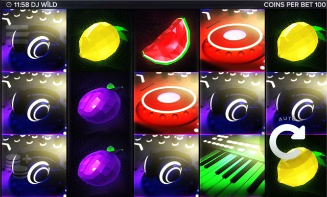 Игровой автомат DJ Wild