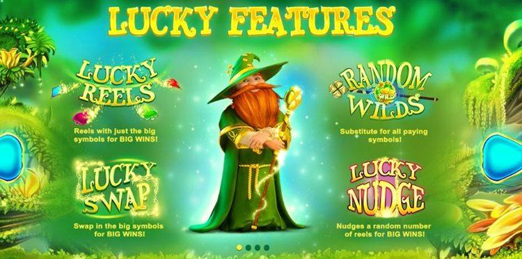 Игровой автомат Lucky Wizard