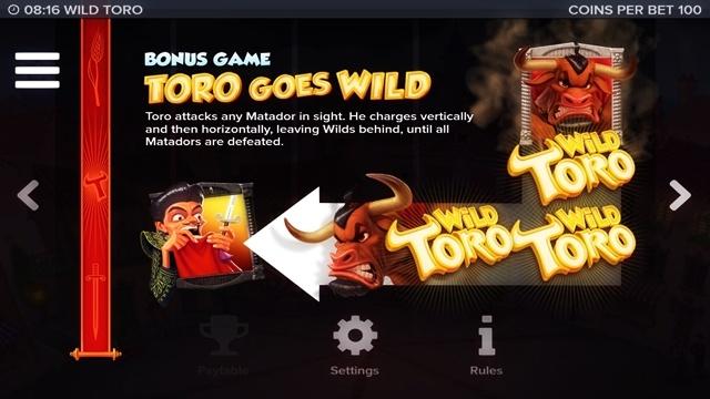 Игровой автомат Wild Toro