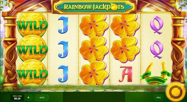 Игровой автомат Rainbow Jackpots