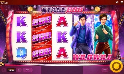 Игровой автомат Stage 888