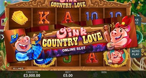 Игровой автомат Oink Country Love
