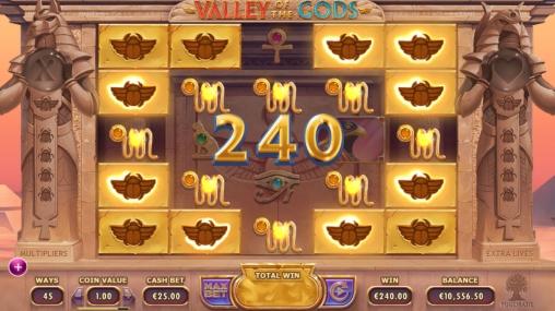 Игровой автомат Valley of the Gods