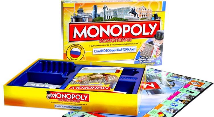 Монополия с банковскими картами цена