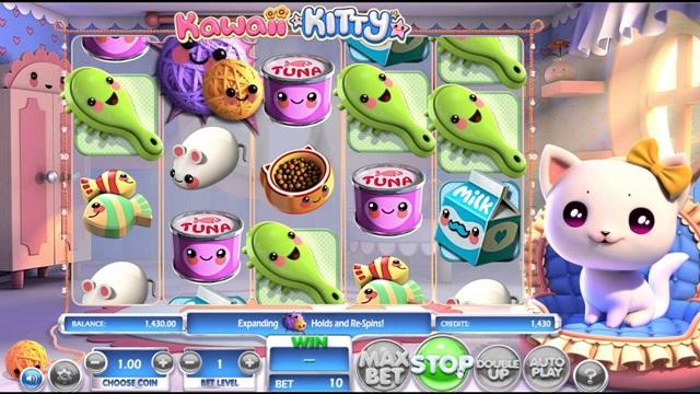 игровой автомат Kawaii Kitty