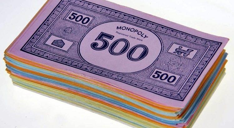 Деньги для игр распечатать