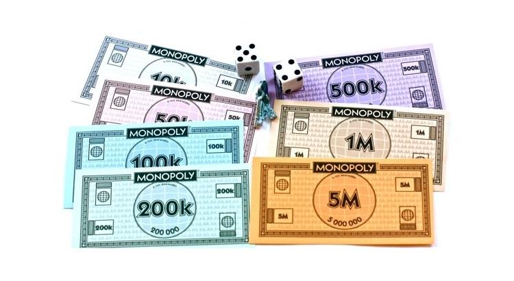 Деньги для игры монополия распечатать