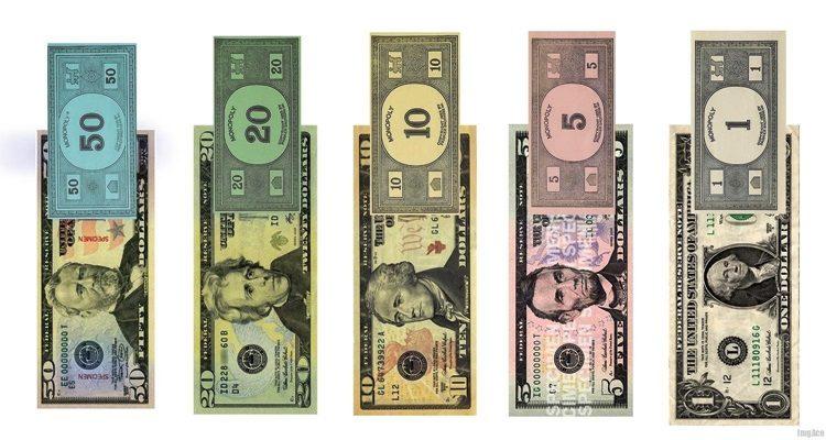 Игровые деньги печать бесплатно