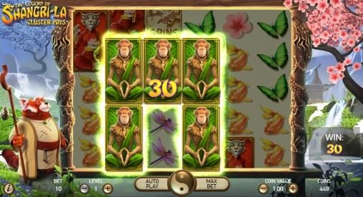 Игровой автомат The Legend of Shangri La