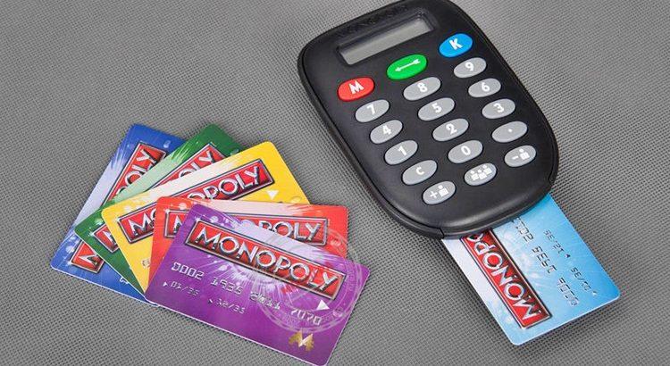 Как сделать банковские карты для Монополии