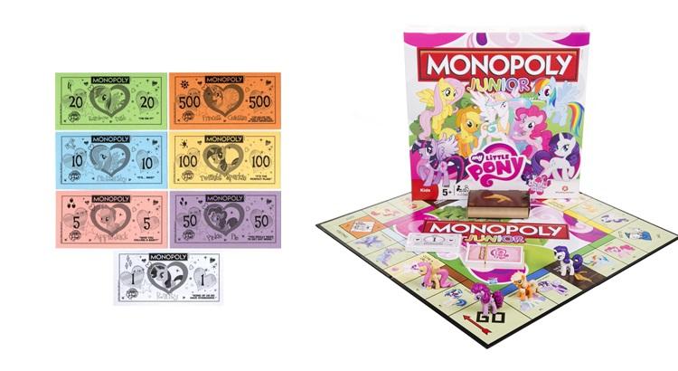 Монополия Моя Маленькая Пони скачать игровые деньги