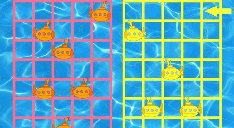 Настольная игра Подводная битва