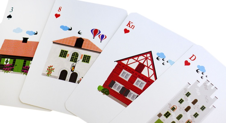Игральные карты скачать вектор