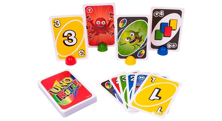 Игра Уно Делюкс карточки