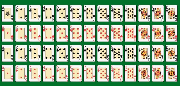 Игральные карты распечатать