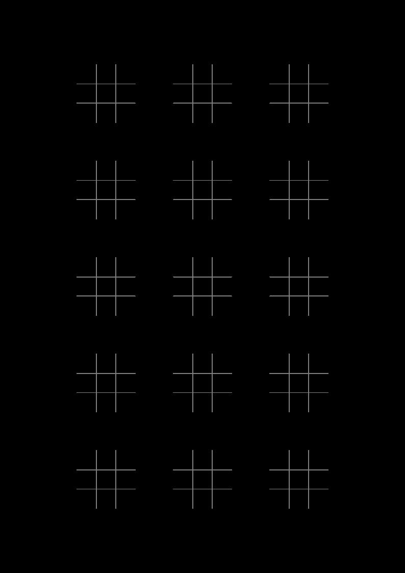 Настольная игра Крестики Нолики