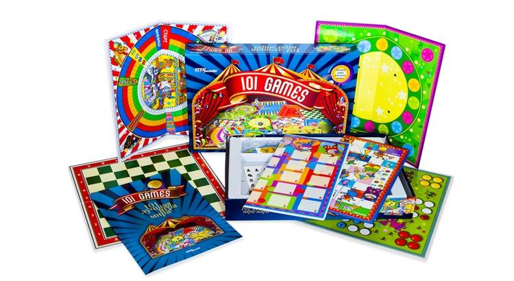 Картотека настольно печатных игр