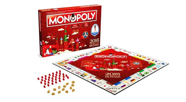 Настольная игра Монополия Fifa