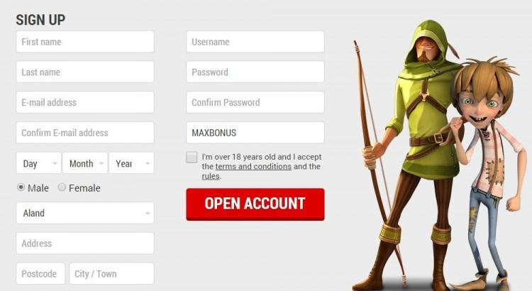регистрация онлайн казино