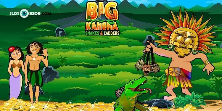 Игровой автомат Big Kahuna Snakes and Ladders