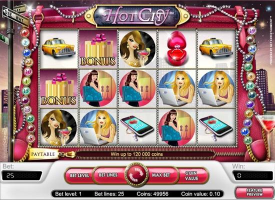 hot city автомат