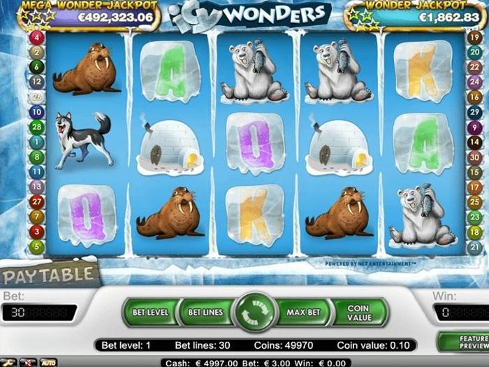 Игровой автомат Icy Wonders