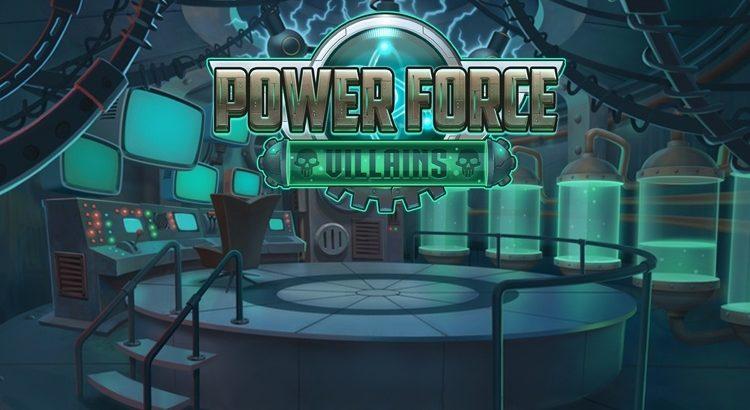 Игровой автомат Power Force Villains