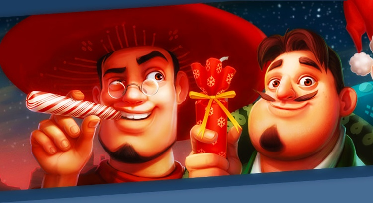 Игровой автомат Taco Brothers Saving Christmas