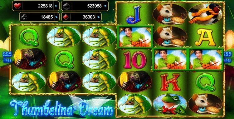 Игровой автомат Thumbelina's Dream