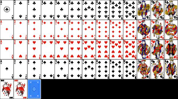 Карты для покера распечатать