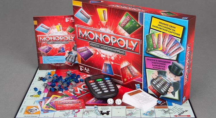 Монополия с банковскими картами правила