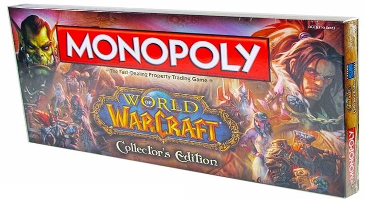 Настольная игра Монополия WOW (World of Warcraft)