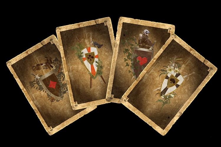Макет игральных карт скачать
