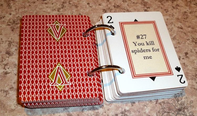 Блокнот своими руками из игральных карт