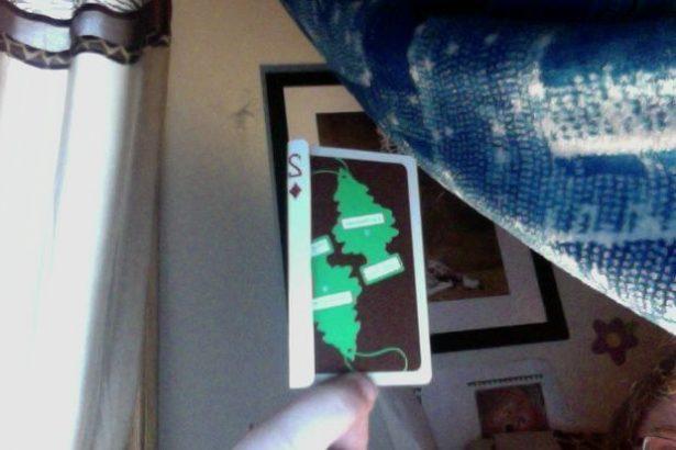 Галстук бабочка своими руками из игральных карт