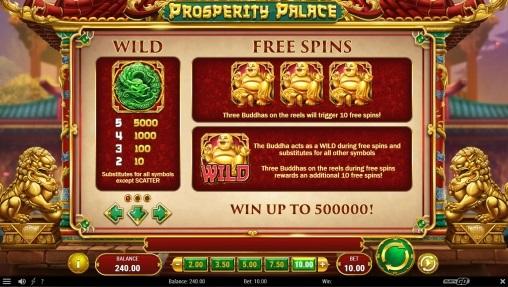 Игровой автомат Prosperity Palace