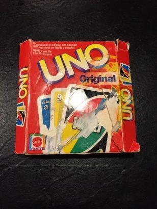 Коробочка для карт Уно своими руками