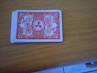 Кошелек из игральных карт