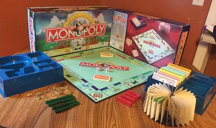 Монополия делюкс правила