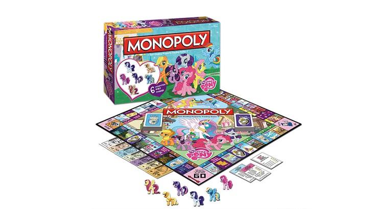 Игровое поле для монополии Моя Маленькая Пони