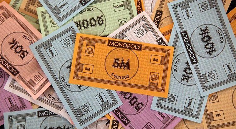 Игровые деньги монополии