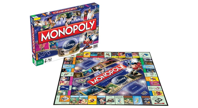 Монополия Disney
